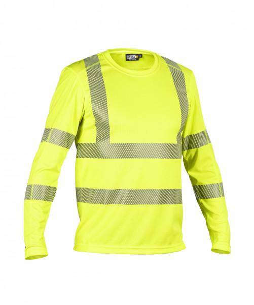 DASSY® Carterville Warnschutz UV-T-Shirt mit langen Ärmeln PES 06 - HIVIS STOFF
