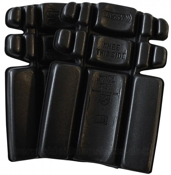 DASSY® Cratos Zertifizierte Knieschützer (Typ 2, Level 1) SCHWARZ Kniepolster
