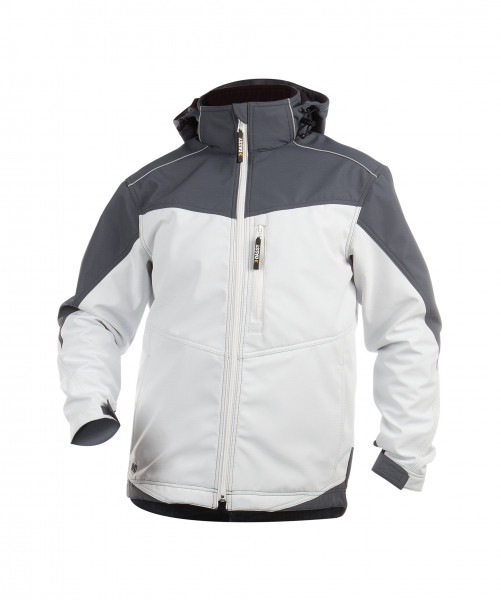 DASSY® Jakarta Zweifarbige Softshell Jacke Softshelljacke Arbeitsjacke