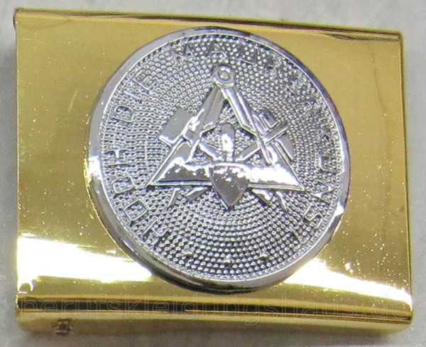 Lederkoppel mit Schloß gold/silber Gürtel Koppel Koppelriemen Koppelschloß