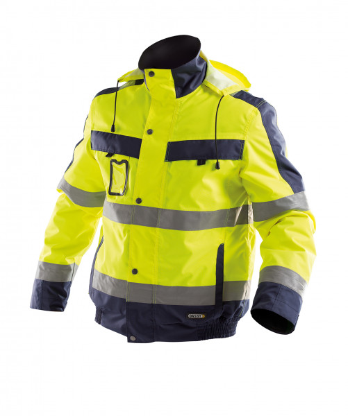 DASSY® Lima Warnschutz Winterjacke PES 70 - HIVIS STOFF