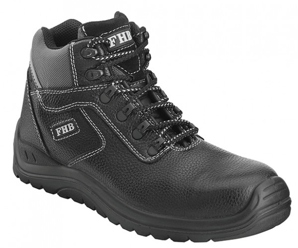 FHB WILFRIED 83962 S3 Schürstiefel ISO 20345-2011-S3 HRO, schwarz
