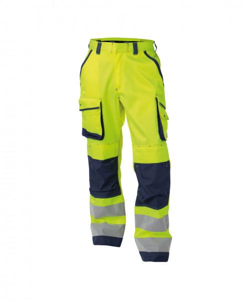 DASSY® Chicago Warnschutzhose mit Kniepolstertaschen Arbeitshose Bundhose