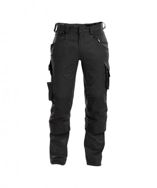 DASSY® Dynax Arbeitshose mit Stretch und Kniepolstertaschen Bundhose
