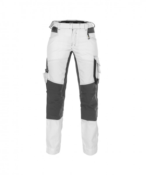 DASSY® Dynax Women Arbeitshose mit Stretch und Kniepolstertaschen für Damen Bundhose