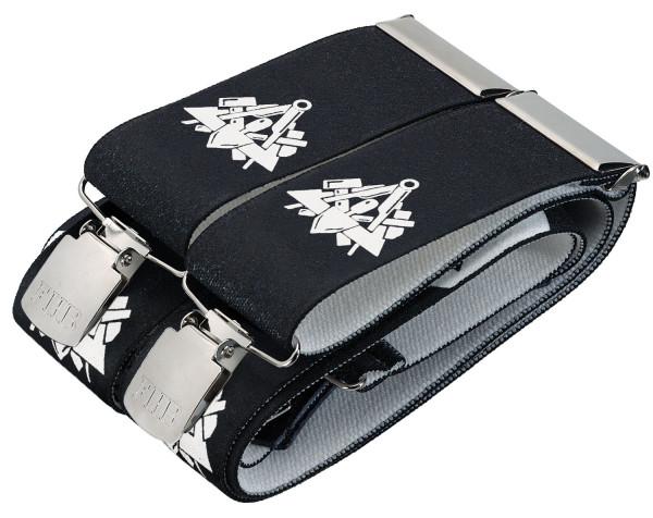 FHB ALEXANDER 90200 Hosenträger Maurer, schwarz, 120 cm
