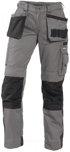 DASSY® Seattle Women Zweifarbige Arbeitshose mit Holstertaschen Kniepolstertaschen Damenhose