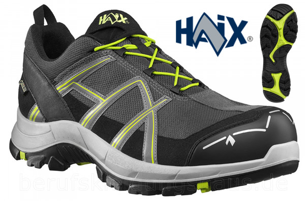 Haix Black Eagle Safety 40.1 low stone-citrus S3 ESD Halbschuhe Sicherheitsschuhe