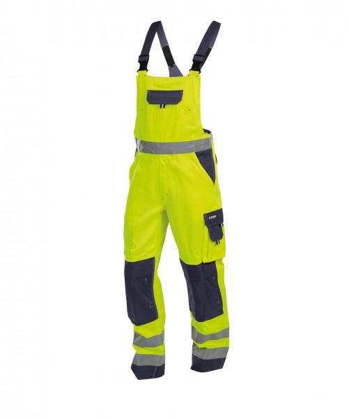 DASSY® Toulouse Warnschutz Latzhose mit Kniepolstertaschen Arbeitshose Berufshose