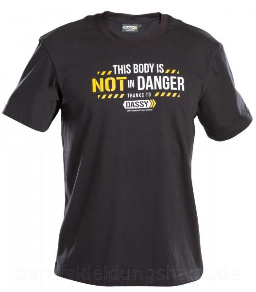 DASSY® Alonso T-shirt mit Aufdruck SCHWARZ Shirt