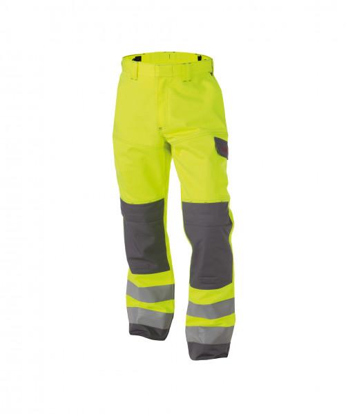 DASSY® Manchester Multinorm Warnschutzhose mit Kniepolstertaschen Arbeitshose Bundhose