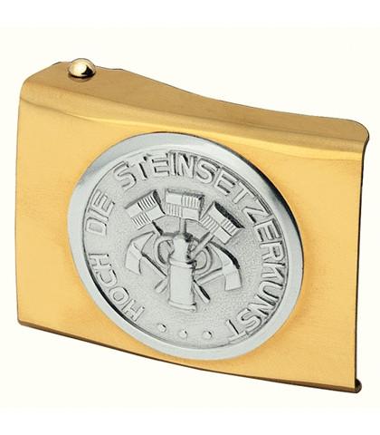 FHB EINHARDT 87030 Koppelschloss Steinsetzer, GOLD