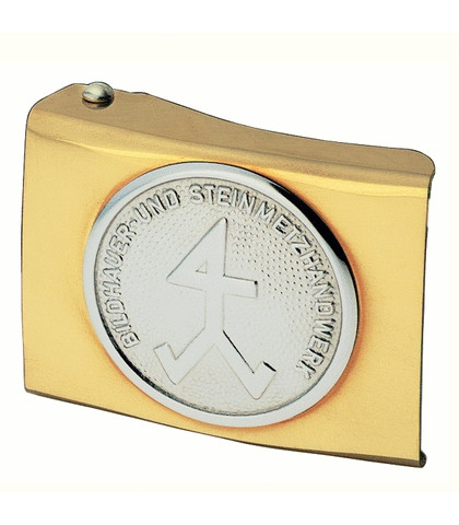 FHB ARVED 87070 Koppelschloss Steinmetz / Bildhauer, GOLD