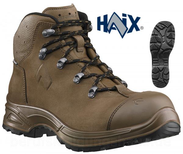 Haix Airpower XR26 Damen S3 Hochschuhe Sicherheitsschuhe Arbeitsschuhe braun