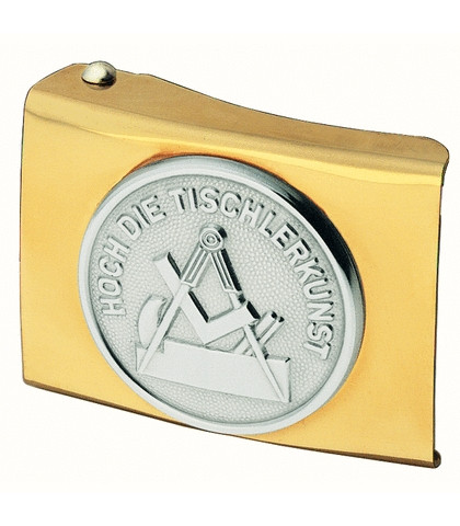 FHB GERRIT 87060 Koppelschloss Tischler, GOLD