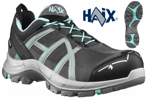 Haix Black Eagle Safety 40.1 Damen low grey-mint S3 ESD Halbschuhe Sicherheitsschuh