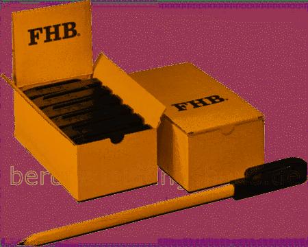 FHB RUTH 94653 Stiftverlängerungs-Box, Stiftverlängerung schwarz