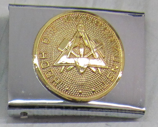 Lederkoppel mit Schloß silber/gold Gürtel Koppel Koppelriemen Koppelschloß