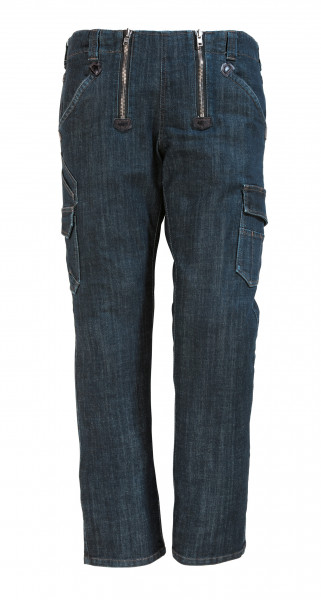 FHB FRIEDHELM 22660 Jeans Zunfthose LYCRA-STRETCH, SCHWARZBLAU