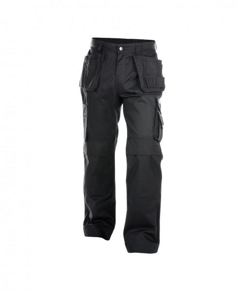 DASSY® Oxford Arbeitshose mit Holstertaschen und Kniepolstertaschen dicker Stoff Bundhose