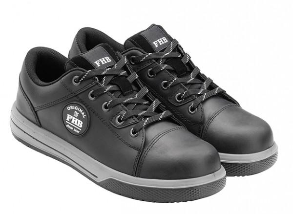 FHB JULIAN 83865 S3 Sneaker EN ISO 20345-2011-S3, HALBSCHUH, SCHWARZ