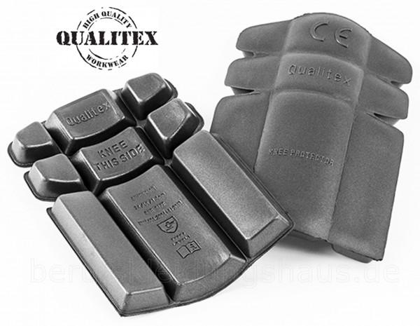 Kniepolster grau für Knietaschen auf Arbeitshosen 5 Paar