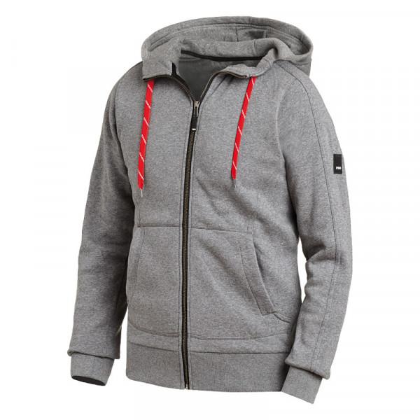 FHB BENNO 79494 Sweater-Jacke mit Kapuze, GRAU